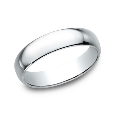 Mens 5 Mm 10K Gold Wedding Band