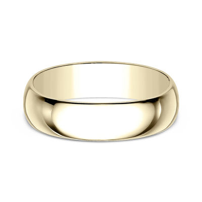 Mens 7 Mm 10K Gold Wedding Band