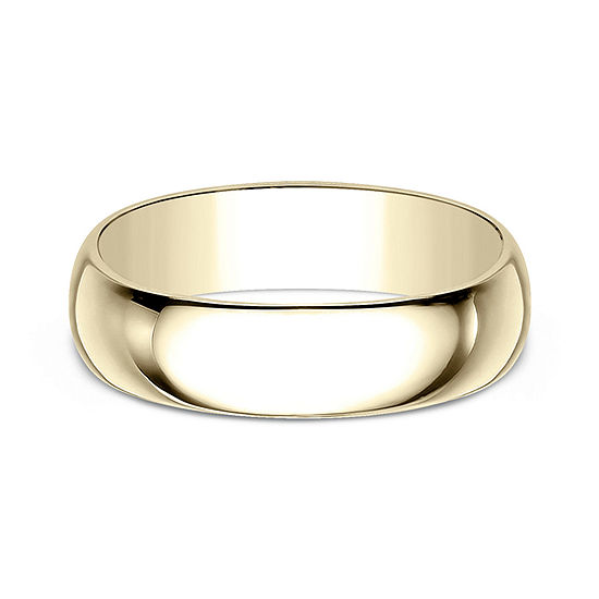 7 Mm 10K Gold Wedding Band