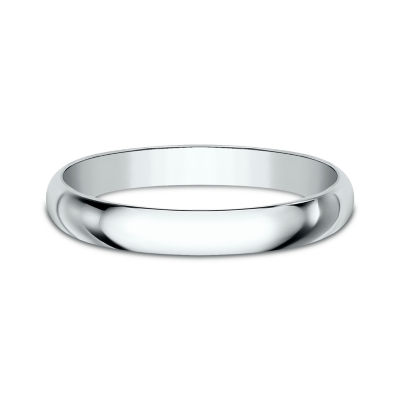 Women's 14K White Gold 2.5MM Traditional Wedding Band