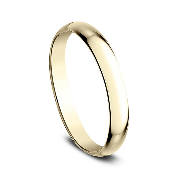Women's 14K Yellow Gold 2.5MM Traditional Wedding Band