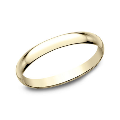 Womens 2 Mm 10K Gold Wedding Band