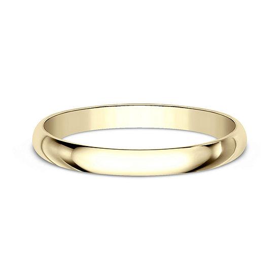 2MM 10K Gold Wedding Band