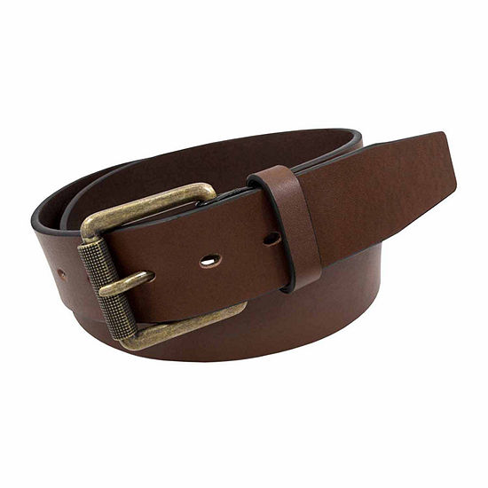 Stacy Adams® Antique Brass Roller Buckle Casual Belt