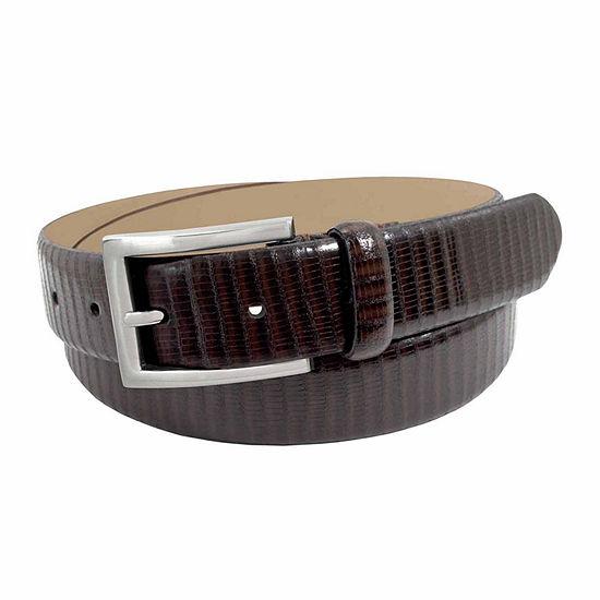 Stacy Adams® Lizard Embossed Belt
