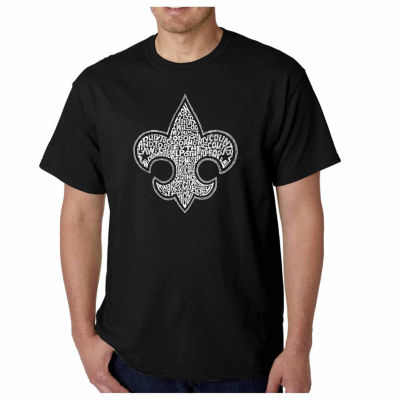 Los Angeles Pop Art Boy Scout Oath Short Sleeve Word Art T-Shirt - Big and Tall
