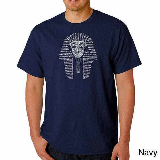 Los Angeles Pop Art King TUT Short Sleeve Word ArtT-Shirt - Big and Tall
