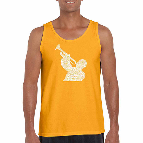 09f16bb106dee1 Los Angeles Pop Art Mens Crew Neck Sleeveless Tank Top Big and Tall -  JCPenney