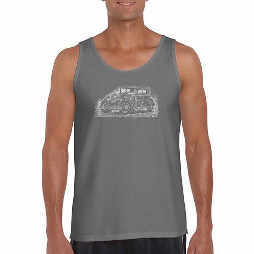 Los Angeles Pop Art Legend Short Sleeve Crew Neck T-Shirt-Big and Tall