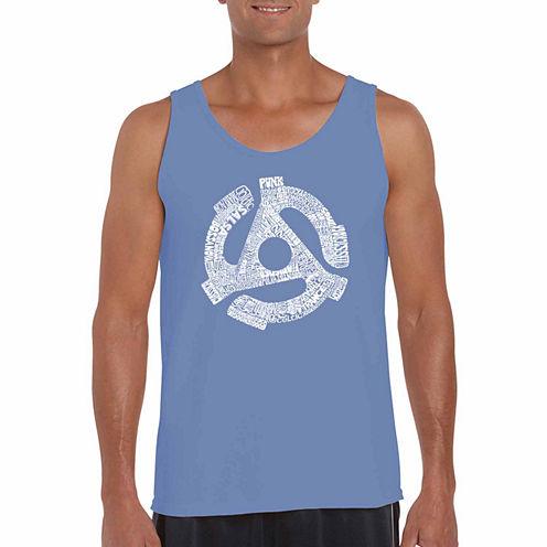 Los Angeles Recordadapter Short Sleeve Crew Neck T-Shirt-Big And Tall