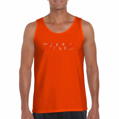 "Los Angeles Pop Art ""The Neighborhood Soft Okyo"" Word Art Tank Top- Men's Big and Tall"""