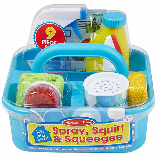 Melissa & Doug Let'S Play House Spray  Squirt & Squeegee Play Set