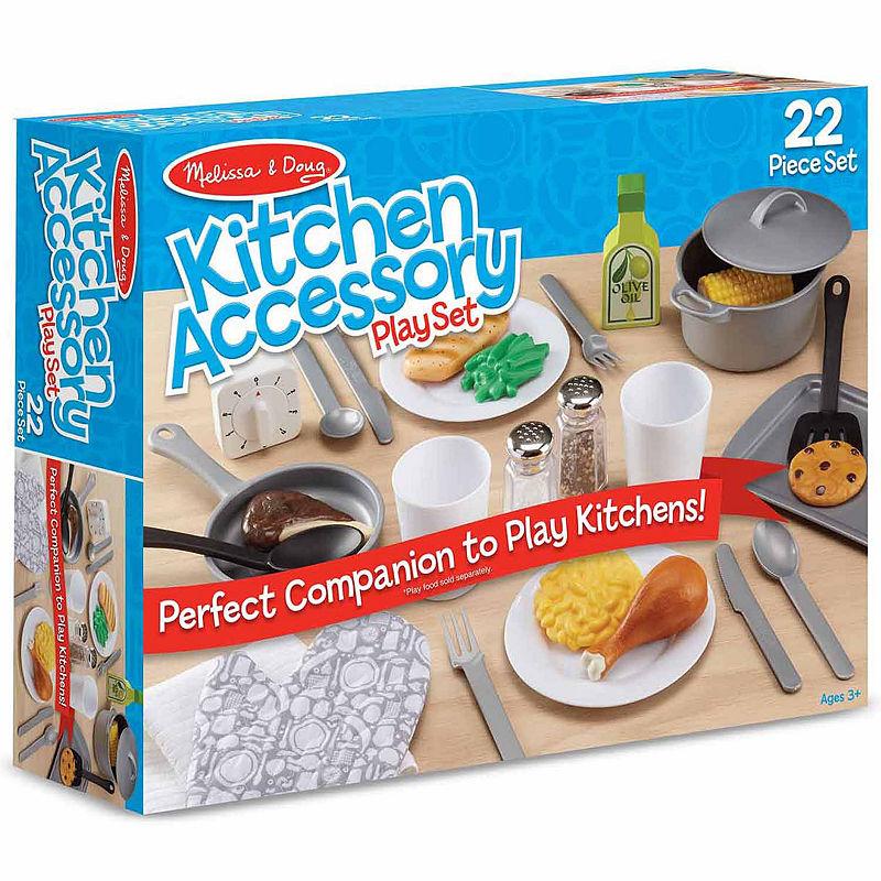 Melissa & Doug Kitchen Accessory Set, Multi-colored, One Size