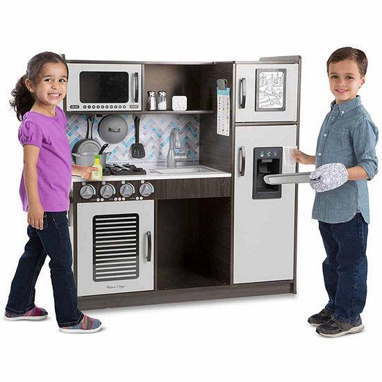 Melissa & Doug Chef'S Kitchen - Charcoal