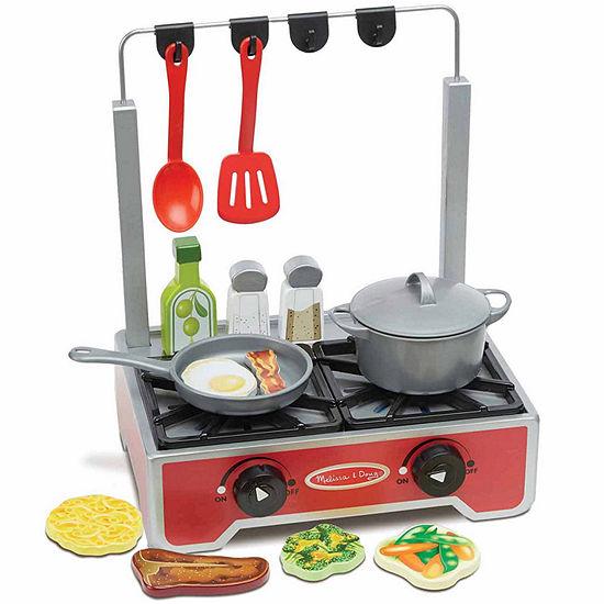 Melissa & Doug® Deluxe Wooden Cooktop Set