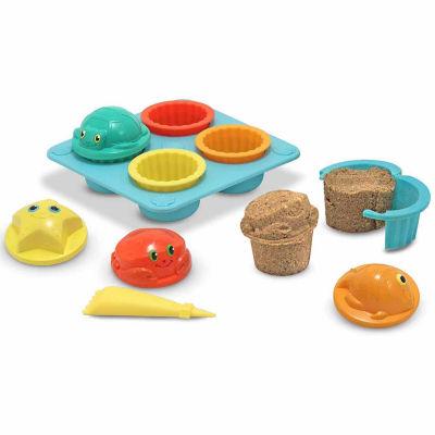 Melissa & Doug® Seaside Sidekicks Sand Cupcake Set