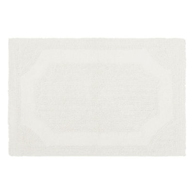 Laura Ashley Cotton Reversible Bath Mat Collection