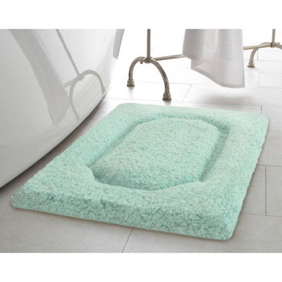 Blossom Premium Plush Racetrack Bath Rug Collection