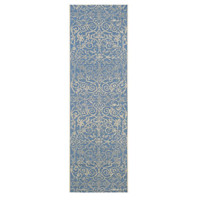 Couristan® Summer Quay Indoor/Outdoor Rectangular Runner Rug