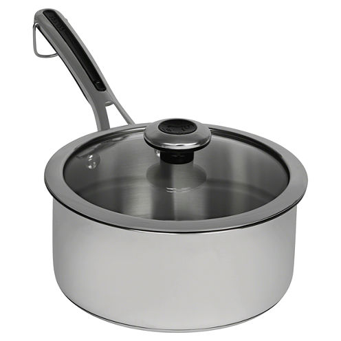 Revere Copper Confidence Core 3 Qt Stainless Steel Sauce Pan
