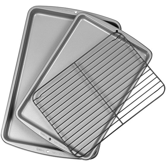 Wilton® Medium and Large Cookie Sheet with Grid
