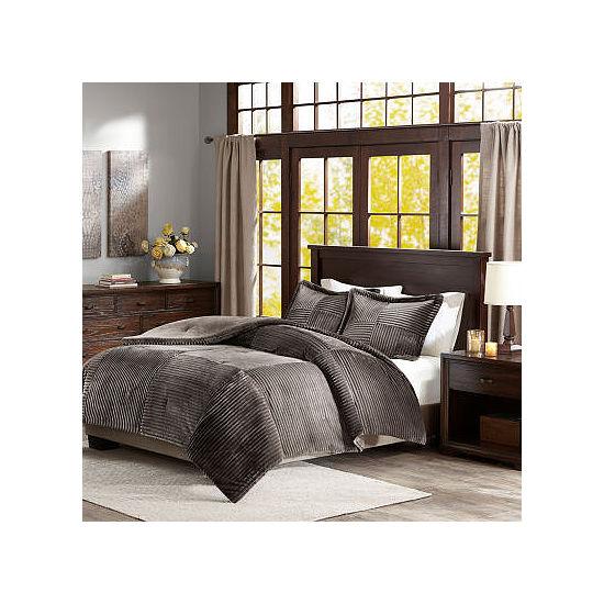 Madison Park Parker Corduroy Mini Comforter Set