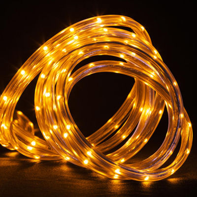 10' Amber LED Indoor/Outdoor Christmas Linear Tape Lighting