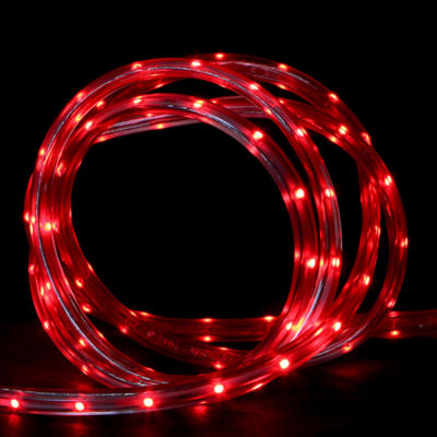 10' Red LED Indoor/Outdoor Christmas Linear Tape Lighting
