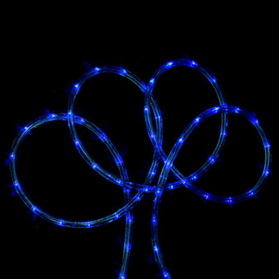 18' Blue Indoor/Outdoor Christmas Rope Lights
