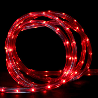 100' Commercial Red LED Indoor/Outdoor Christmas Linear Tape Lighting