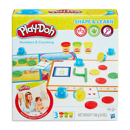 Play Doh Shape & Learn Numbers & Counting Kids Dough