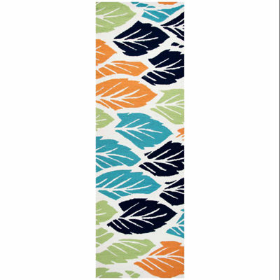 Rizzy Home Azzura Hill Collection Abigail Leaf Rugs
