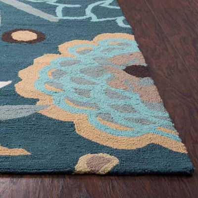 Rizzy Home Azzura Hill Collection Elena Hawaiian/Tropical Rugs