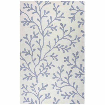 Rizzy Home Azzura Hill Collection Harper Hawaiian/Tropical Rugs