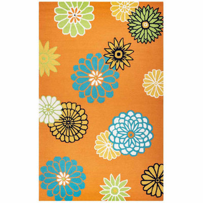 Rizzy Home Azzura Hill Collection Madison Floral Rugs