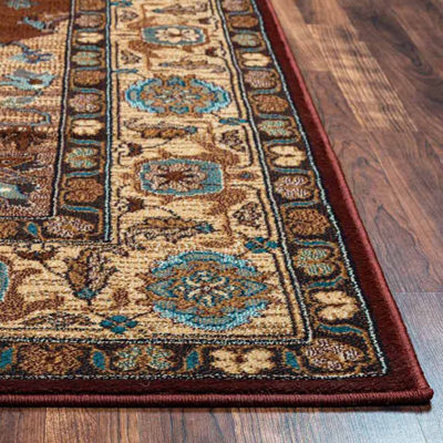 Rizzy Home Bellevue Collection Delilah Bordered Rugs