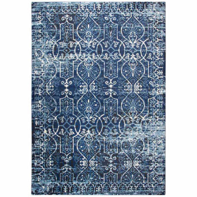 Rizzy Home Panache Collection Vivienne Scroll Rectangular Rugs