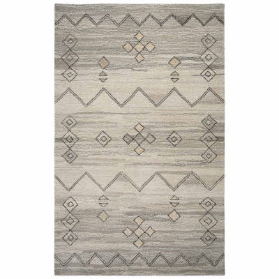 Rizzy Home Suffolk Collection Danielle Pattern Rectangular Rugs