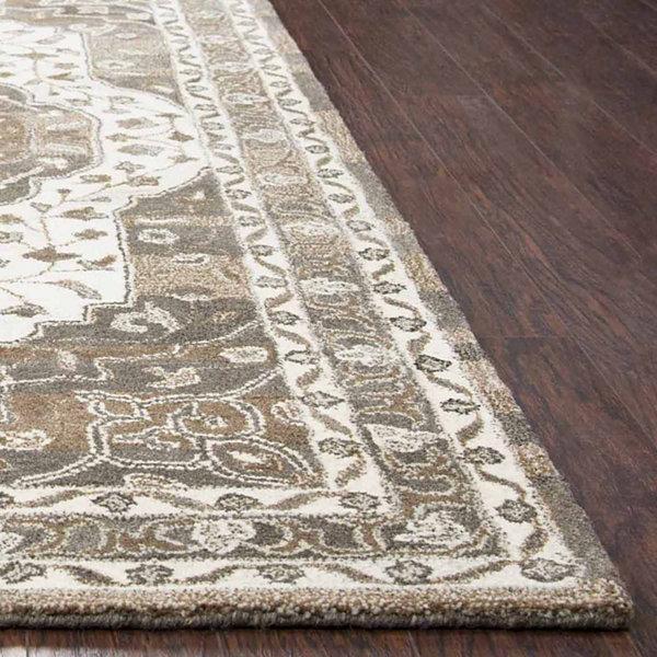 Rizzy Home Suffolk Collection Mariana Medallion Rectangular Rugs