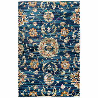 Rizzy Home Xceed Collection Ada Floral RectangularRugs