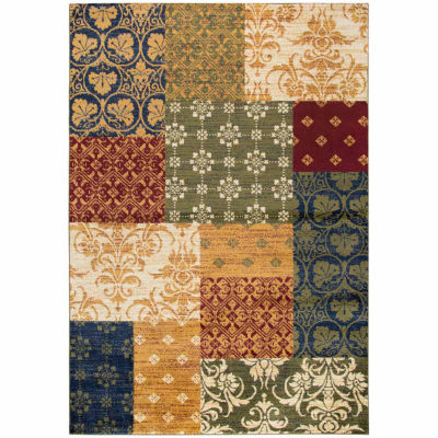 Rizzy Home Xceed Collection Adaline Patchwork Rectangular Rugs