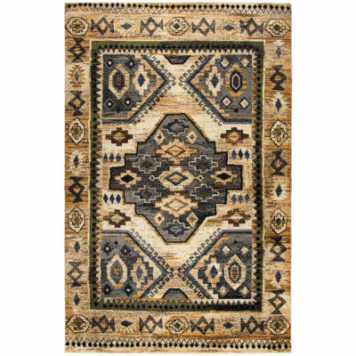 Rizzy Home Xceed Collection Felicity Medallion Rectangular Rugs