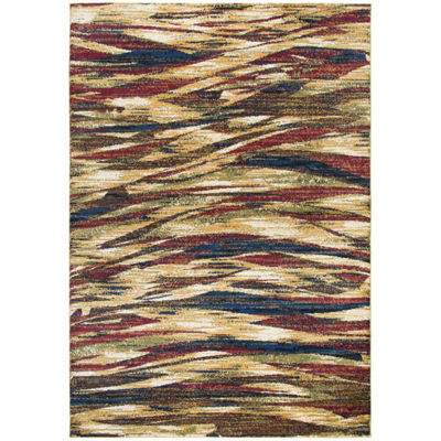 Rizzy Home Xceed Collection Gracelyn Waves Rectangular Rugs