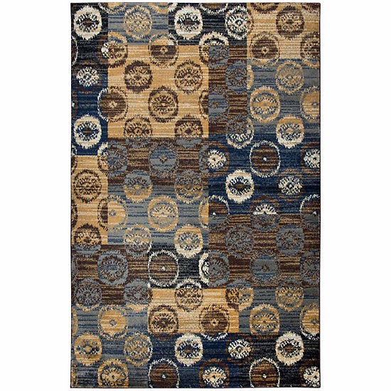 Rizzy Home Xceed Collection Kamryn Patchwork Rectangular Rugs