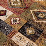 Rizzy Home Xceed Collection Kira Patchwork Rectangular Rugs