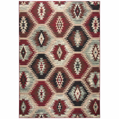 Rizzy Home Xcite Collection Alicia Pattern Rectangular Rugs
