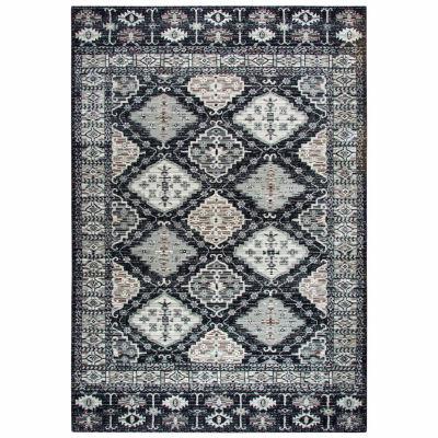 Rizzy Home Zenith Collection Quinn Oriental Rectangular Rugs