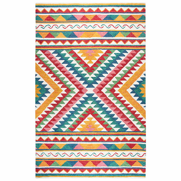 Rizzy Home Zingaro Collection Dyllan Pattern Rectangular Rugs