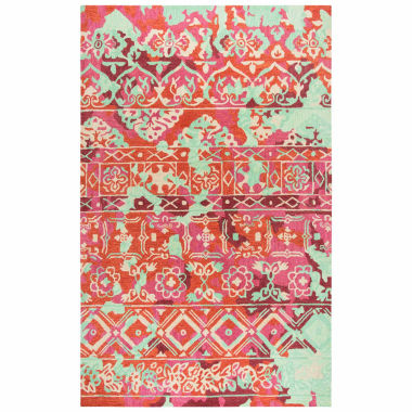 Rizzy Home Zingaro Collection Elle Pattern Rectangular Rugs