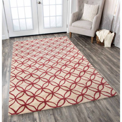 Rizzy Home Opus Collection Parker Geometric Rectangular Rugs